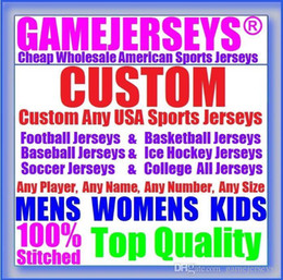 Wholesale American Football College Jerseys - college american football jersey basketball baseball hockey soccer rugby sports authentic throwback custom jerseys womens mens kids youth