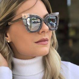 397cefd8e7c Vidano Optical mujer diseñador de moda gafas de sol retro gafas de gran  tamaño cat eye vintage sunglass des lunettes de soleil designer oversize  sunglasses ...