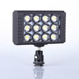 Wholesale Dslr Video Lighting - WanSen W12 10W 3200K 5600K Camera LED Video Light DV Camcorder Lamp for Canon Nikon DSLR Cameras