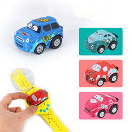 Wholesale Plastic Channel - 4 Colors Gravity Sensing 4CH RC Car Gesture Control Cars with Wearable Watch Controller Remote Control Car Gift for Kids CCA9462 12pcs