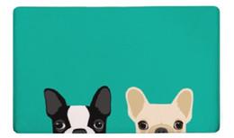 Коврик для ванной собаки печатных мат 50x80cm туалет ковер абсорбент душ ванная комната открытый коврики коврик кухня пол Оптовая cheap outdoor carpet wholesale от Поставщики ковровые покрытия оптом