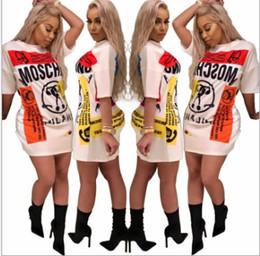 Argentina Cross-border Hot 2018 Europa y los Estados Unidos de gama alta de la moda femenina de la camiseta de las señoras vestido casual 2013 Suministro