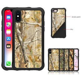Wholesale Apple Tree Print - Tree Branches Pattern UV Print TPU Bumper Acrylic Cover Hybrid Mobile Phone Case For Apple Iphone X 8 7 6S Plus