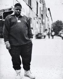 Pittura ad olio piccola online-The Notorious B.I.G - Biggie Smalls Rapper d'arte su tela Poster Modern HD stampa pittura a olio Wall Art Painting