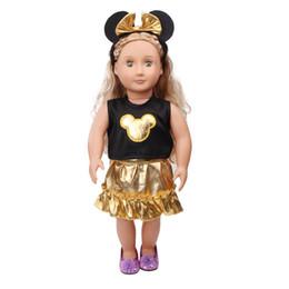 Il vestito dalla bambola del vestito dalla bambola dell'americano della ragazza da 18 pollici e + accessori ha fatto a mano il regalo c548 di compleanno dei bambini da