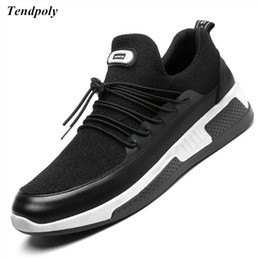 Wholesale Zip Up Ties - Autumn and winter new Korean men's canvas shoes low to help tie flat floor shoes selling students casual fashion men's