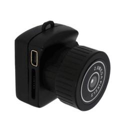 Keychain videorecorder online-Original Y2000 Mini Kamera Pocket Kamera Mini DV Recorder Micro DVR Video Tragbare Kamera Webcam mit Schlüsselanhänger