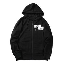 Wholesale Mens Sweaters Baseball - New Mens Hooded Sweater Autumn Winter Baseball Sport Sweater Male Outerwear Men's Coat Jacket