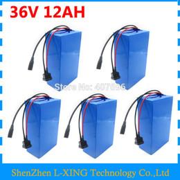 chargeur 36v 12ah Promotion 500W 36V 12AH batterie 36V vélo électrique batterie 12ah 36v batterie utiliser 15A BMS 2A chargeur frais de douane gratuits 5 PCS en gros