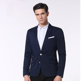 Wholesale Men S Tailored Black Suits - Blue men suits jacket tailor made wedding tuxedos jacket high quality handsome groom best man suits