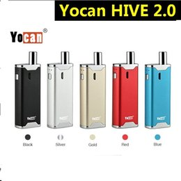 aio electronics Promo Codes - Yocan Hive 2.0 Kit 650mAh Battery Dry Herb Vaporizer Mod Electronic Cigarette Vape Pen Hive 2 AIO Kit 30SET LOT