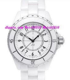 Canada Montres de luxe NOUVEAU H0970 Blanc Céramique 38mm Automatique Jour NOUVEAU Montres Femme Résistant Aux Rayures Saphir Cool supplier cool luxury watches Offre