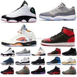 sports shoes a9b53 31ab9 2018 Bester Verkauf 11 13 12 4 1 5 11s 13s 12s 4s 1s 5s Er bekam das Spiel  Kids Womens Mens Basketball Shoes basketballschuhe 13 kinder im angebot