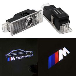 Para BMW F30 E60 E90 E92 E93 F20 Z4 X1 X6 GT M3 M5 M Performance Logo Luz LED de bienvenida para puerta de automóvil desde fabricantes