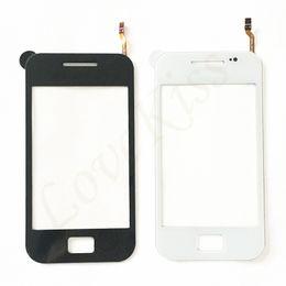 оптовые телефоны для повышения Скидка GT-S5830 Передняя панель для Samsung Galaxy Ace S5830 S 5830 GT-S5830i Датчик сенсорного экрана S5830i ЖК-дисплей планшета Стеклянная крышка