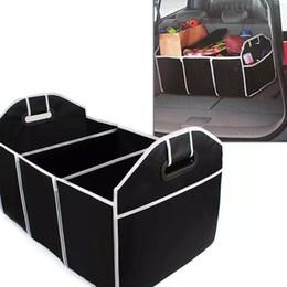 Autos zeug spielzeug online-Faltbare Auto Aufbewahrungsboxen Bins Trunk Organizer Spielzeug Lebensmittel Stuff Storage Container Taschen Autoinnenausstattung Fall Kann FBA Schiff HH7-472