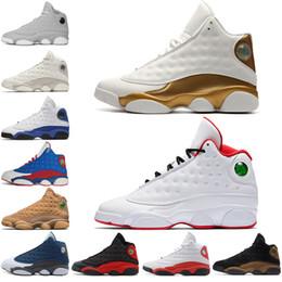 huge selection of e2496 35906 2018 13 13s Mens Basketball Schuhe Phantom Chicago GS Hyper Royal schwarze  Katze Flint Breed Brown DMP Elfenbein Männer Sport Turnschuhe  Designer-Trainer ...