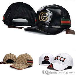 Wholesale Hip Hop Baseball Caps - Fashion Baseball Cap Men Women Outdoor Brand Designer Sports G Baseball Caps Hip Hop Adjustable Snapbacks Cool Pattern Hats New Casual Hat