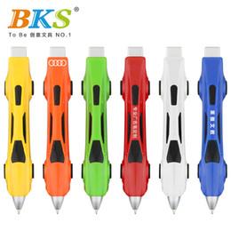 NOUVEAU design stylo créatif nouveauté cadeau publicité papeterie propre conception multicolore jouets voiture ? partir de fabricateur