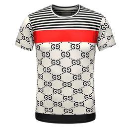Wholesale Diamond Shorts - Wholesale men luxury diamond design Tshirt fashion t-shirts men funny t shirts brand cotton tops and tees D10