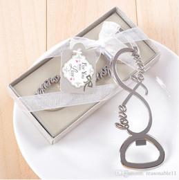 carta de regalo botella Rebajas Abrebotellas Love en caja Favores de boda Regalos Suministros Recuerdos para huéspedes Carta de amor