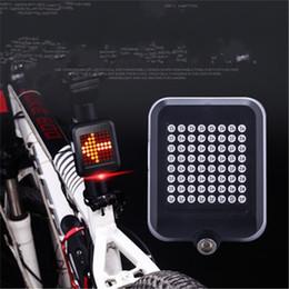 Carica laser online-Luce della bicicletta nera Induzione intelligente del freno del freno del fanale del laser Ricarica USB Spia di avvertimento di sicurezza dello sterzo per mountain bike 43st ii