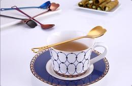 caffetteria Sconti Cucchiaio di caffè a forma di cuore in acciaio inox agitazione per dessert torta di zucchero gelato cucchiai da tè cucina Cafe stoviglie da tavola di nozze