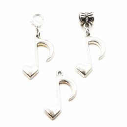 50pcs wholesale silberne musikalische Anmerkung, die hängende Baumelncharme-Hummerschlange Charme-passende Diy Armband-Halsketten-hängende Schmucksache-Zusatz hängt von Fabrikanten