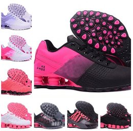 Wholesale Girls Flat Black Shoes - Women Running Shoes Cushion Athletic Trainers Zoom Sports Shoe girl Breathable Outdoor Walking Sneakers baksetball shoes Sneakers