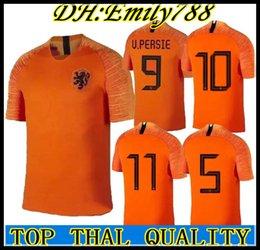 2018 2019 NETHERLANDS soccer jersey home away the netherlands jersey ROBBEN  VIRGIL DOST NEDERLAND 18 19 MEMPHIS Dutch HOLLAND shirts 51d4dcd20