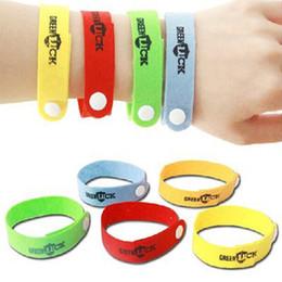 anti-bug-armbänder Rabatt Anti Moskito Bug Repellent Handgelenk Band Armband Insektennetze Bug Lock Camping Erwachsene Kinder abweisend tragbaren Handring