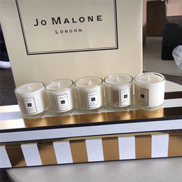 Wholesale Essence Perfume - Jo Malone Incense Essence perfumes for Party Christmas Festival cologne parfum 5*35g With Gift Bag