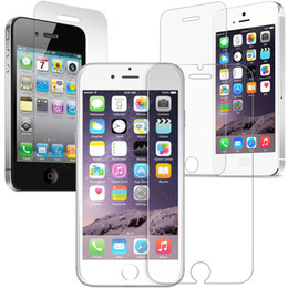 Wholesale Iphone4 Mobile - For iphone4 5 6 6P 7 7P 8 8P x mobile phone toughened membrane,High definition, high quality, high quality cell phone protection film, glass