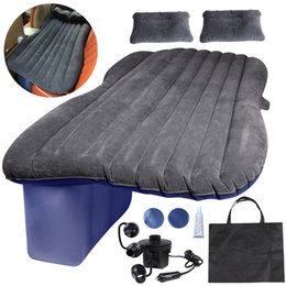 Wholesale mattress bedroom - Car Cushion Air Bed Bedroom Inflation Travel Thicker Mattress Inflatable Pad Provides a Comfortable Environment for You