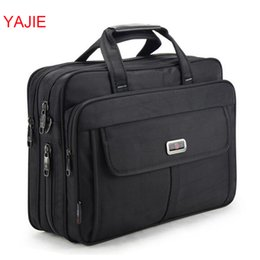 Wholesale Bag Briefcase Satchel Laptop - YAJIE Large Capacity Men's Handbags Business Men Single Shoulder Bag 15.6 Inches Laptop Bag Casual Travel Briefcase Y022