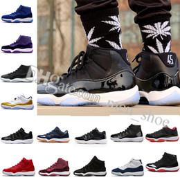 wholesale dealer 29ce9 065d2 2018 Männer Frauen 11 Space Jam 45 Basketballschuhe 11s Space Jam mit  Nummer 45 Sport Sneakers Schuhe Freies Verschiffen Größe US 5.5-13 Eur 36-47