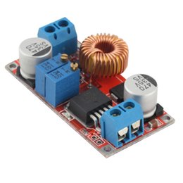 Wholesale Lithium Battery Charging Board - 5A DC to DC CC CV Lithium Battery Step down Charging Board Led Power Converter Lithium Charger Step Down Module Modules fast ship