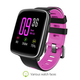 Wholesale Monitor Strap - GV68 Smart Watch Waterproof Ip68 Heart Rate Monitor Bluetooth Smartwatch Swimming with Replaceable Straps for IOS Android 2018