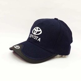 Wholesale Motorcycle Colours - New for man and woman4 colours Toyota Race baseball caps Motorcycle moto gp F1 Caps Hats