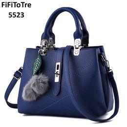 649a69325 Distribuidores de descuento Totalizadores De Cuero De Moda Azul ...
