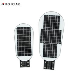 Feux de rue dirigés par modèle en Ligne-Nouveau modèle solaire réverbère pour 20w 40w LED extérieur imperméable IP65 PIR capteur Smart Light Led