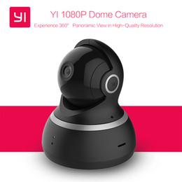 camara de edicion Rebajas Cámara domo YI 1080P Visión Nocturna Edición Internacional Xiaomi yi Pan / Tilt / Zoom Monitor de Sistema de Vigilancia de Seguridad IP Inalámbrica