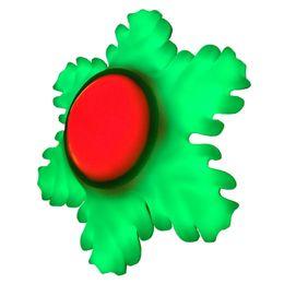 Lampada petalo online-Lampada a mano a sei petali verde-laterale 110-240 AC Luce a colori per la casa Illuminazione per le feste Lampadina a soffitto Luce decorativa