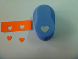 Бумажная пенная бумага онлайн-Бесплатная доставка 3/8 дюйма (около 0,8 см) сердец пуансонов записок мини-бумаги пены удара евы перфоратор