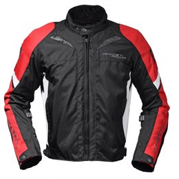 Wholesale Riding Jackets - Ghost Protective Racing Thermal windproof Waterproof Motorcycle Jacket for 4 season for riding competition
