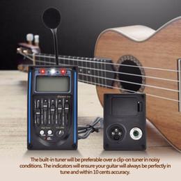 piezo gitarre akustisch Rabatt Tuner Pickup mit 5 Band Vorverstärker EQ Equalizer Piezo Digital für Akustikgitarre