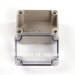 Wholesale Enclosure Waterproof - High Quality ABS Plastic Enclosure Waterproof Box Electronics Box 80*110*85mm