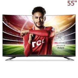 2019 taux tvs TCL 55inch 34 intelligence primaire artificielle points quantiques de couleur nucléaire nucléaire HDR ultra-mince 4K TV courbée (cendre profonde) livraison gratuite.