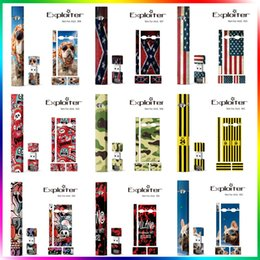 Wholesale logo stickers wholesale - Sticker For Juul IQOS Customized Wrap Paper Cover For Juul Magnetic USB Charger Skin Kits OEM Logo For Juul Kits USB Cartridges Pods
