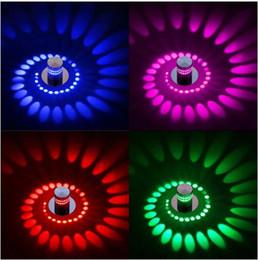 led veranda licht leuchten Rabatt Moderne LED Deckenleuchte 3W RGB Wandleuchte für Kunstgalerie Dekoration Front Balkon Lampe Veranda Licht Flure Leuchten